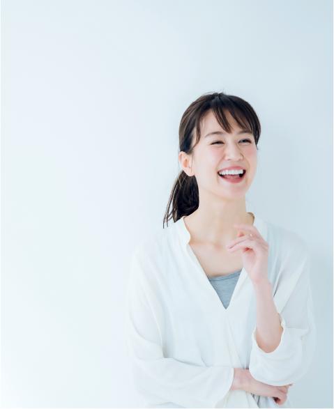 女性が笑っている写真1